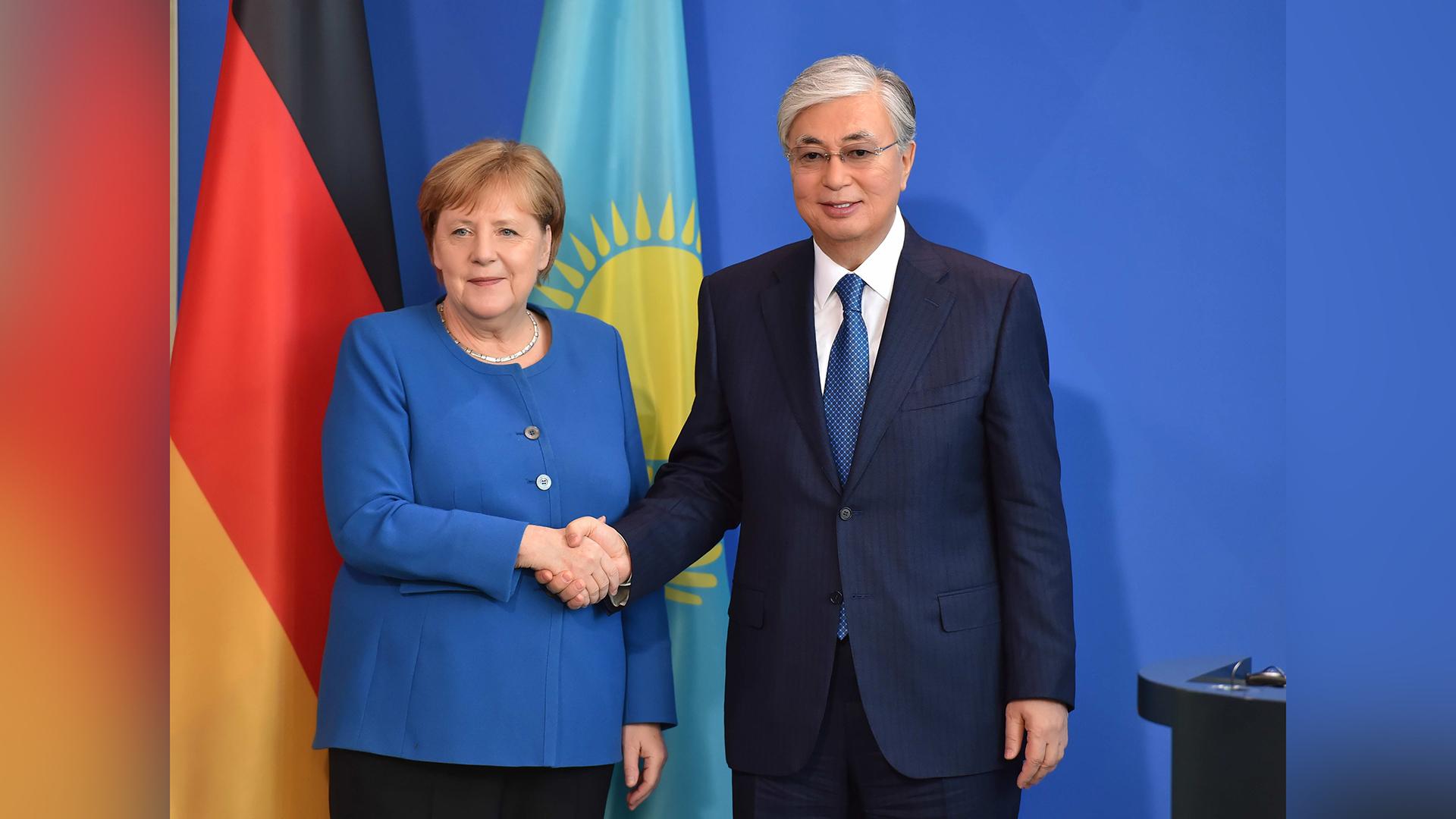 Картинки по запросу Президент Казахстана провел переговоры в Германии