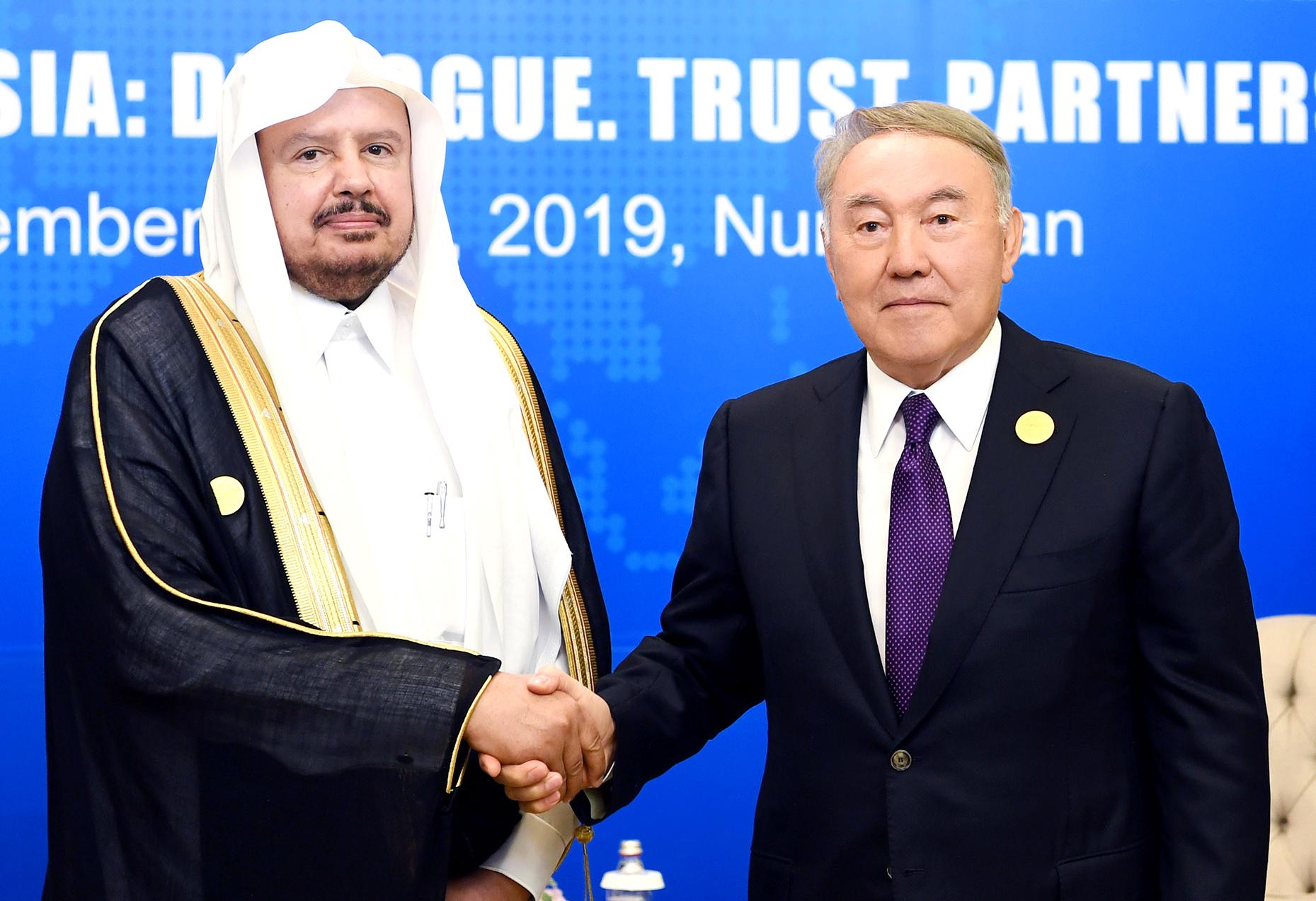 Нурсултан Назарбаев провел ряд встреч с парламентариями стран Евразии 1