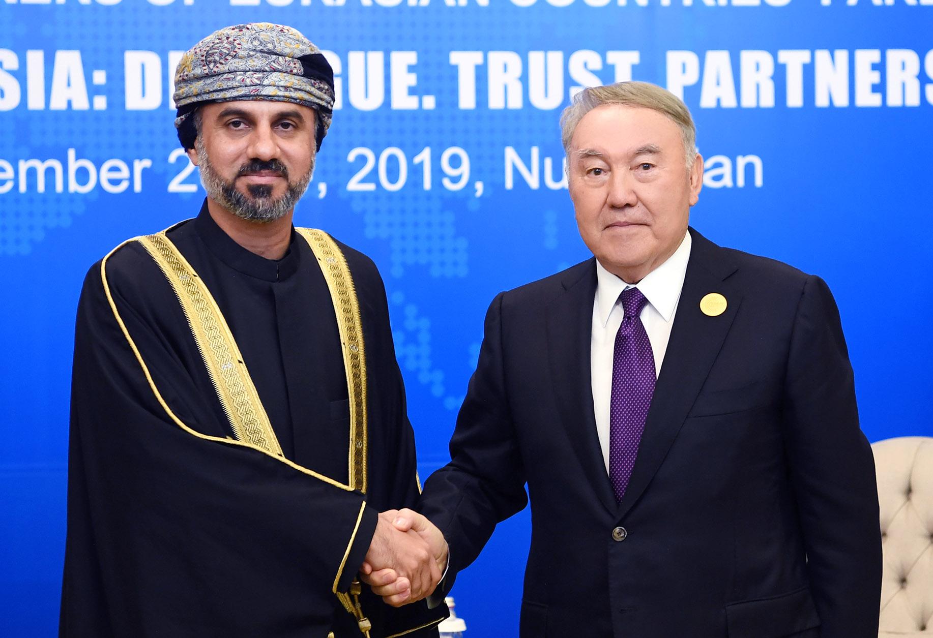 Нурсултан Назарбаев провел ряд встреч с парламентариями стран Евразии 2