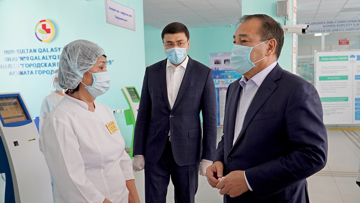 Ералы Тоғжанов елордадағы медицина мекемелерінде Президент тапсырмаларының іске асырылу барысын тексерді