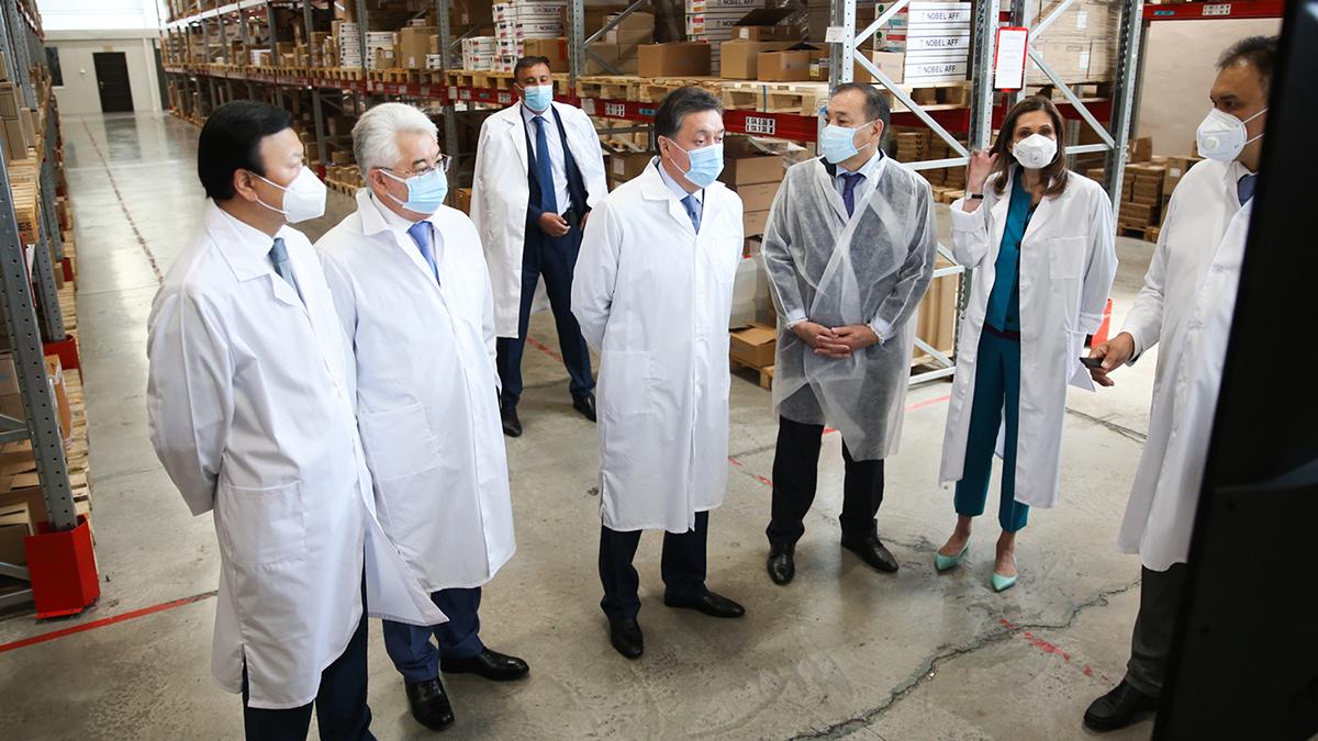 Үкімет басшысы «СҚ-Фармация» мекемесінің жұмысын тексерді