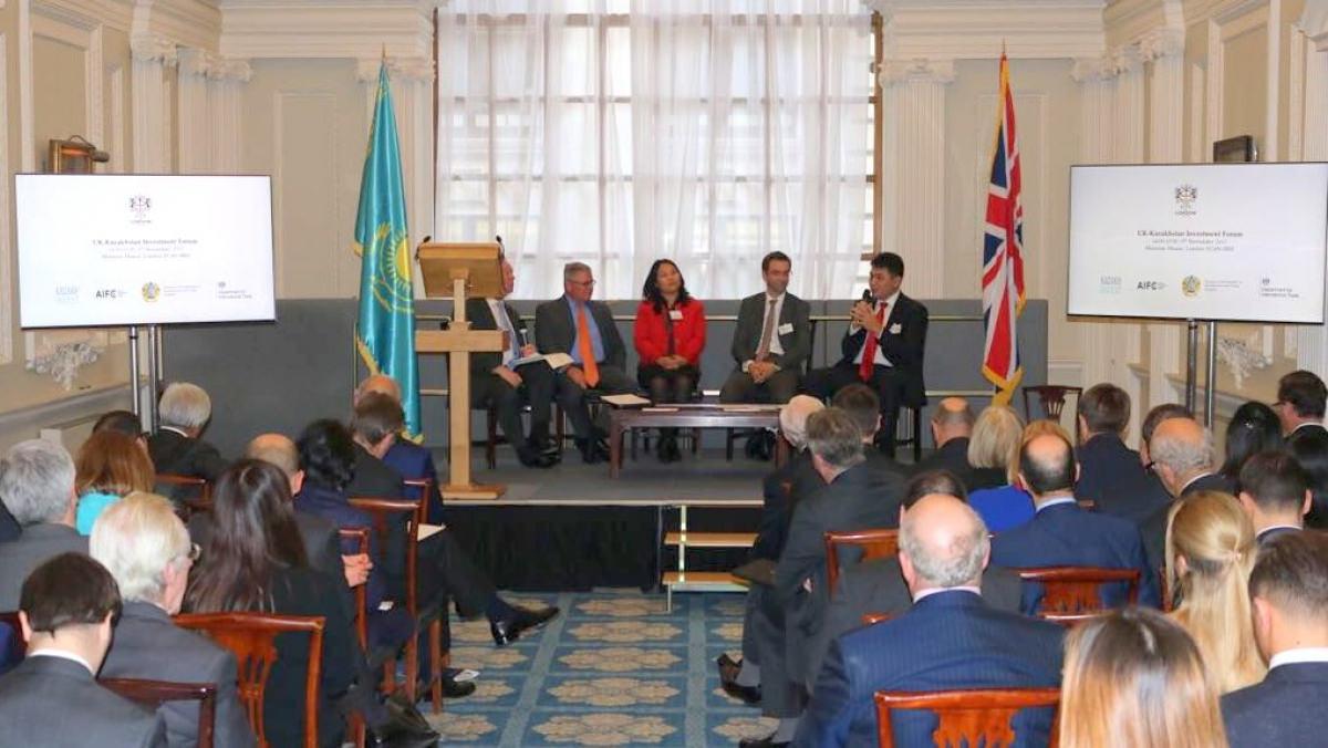 АХҚО мен Kazakh Invest Қазақстанның Ұлыбританиядағы инвестициялық мүмкіндіктерін таныстырды
