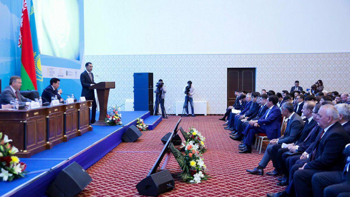 Бакытжан Сагинтаев выступил на казахстанско-белорусском бизнес-форуме