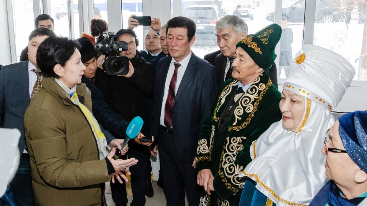 Г. Әбдіқалықова бастаған үкіметтік жұмыс тобы Ақтөбе облысына барды