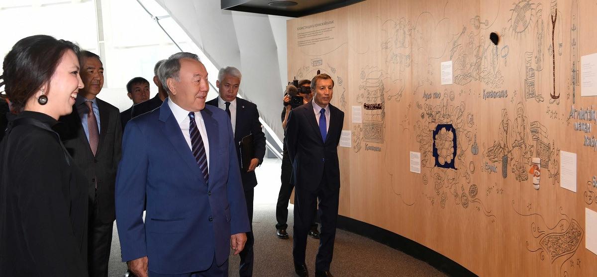 Мемлекет басшысы «Астана ЭКСПО-2017» көрме кешенін аралады