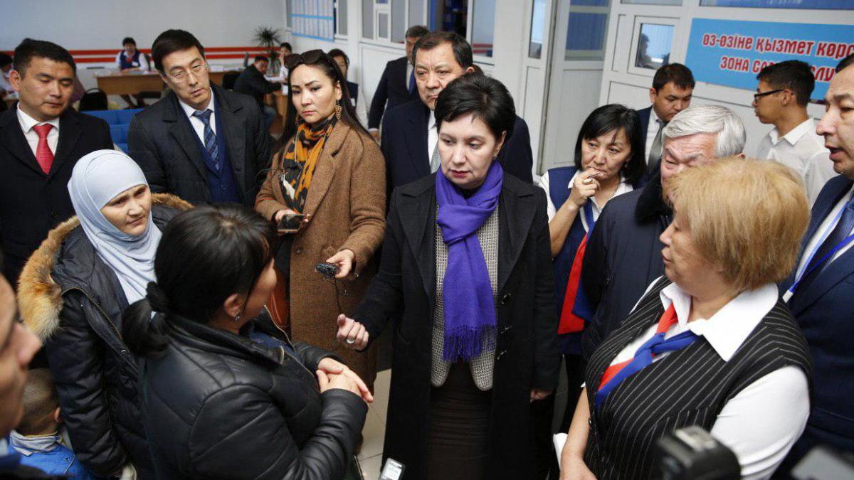 Рабочая поездка в Атыраускую область: Г. Абдыкаликова разъяснила новые меры соцподдержки «Әлеуметтік қамқорлық»