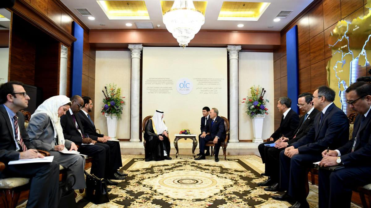 Мемлекет басшысы Ислам ынтымақтастығы ұйымының бас хатшысымен кездесті