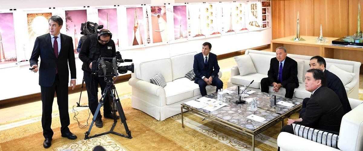 Елбасы «Астана Бас жоспары» ғылыми-зерттеу жобалық институты» ЖШС-де болды
