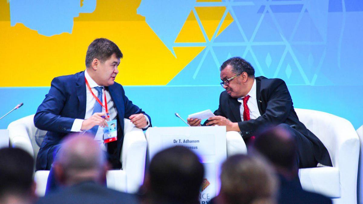 В Астане на Глобальной конференции принята новая Декларация по первичной медико-санитарной помощи