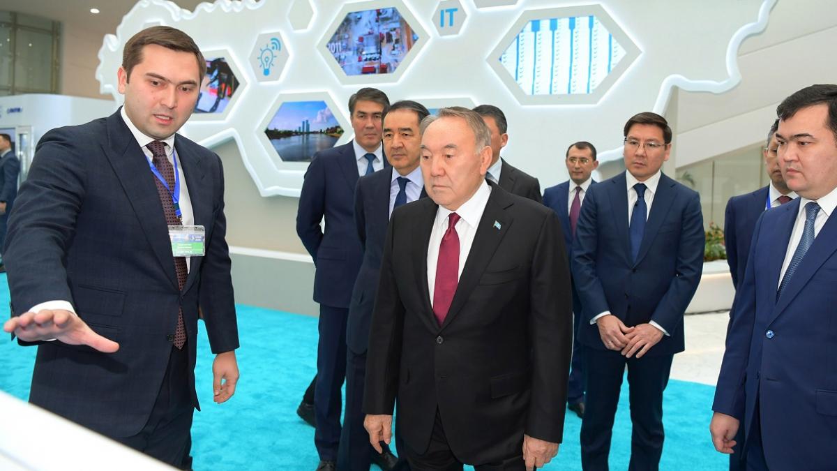 Президент РК принял участие в презентации проектов Карты индустриализации и церемонии награждения победителей премий «Парыз» и «Алтын сапа»