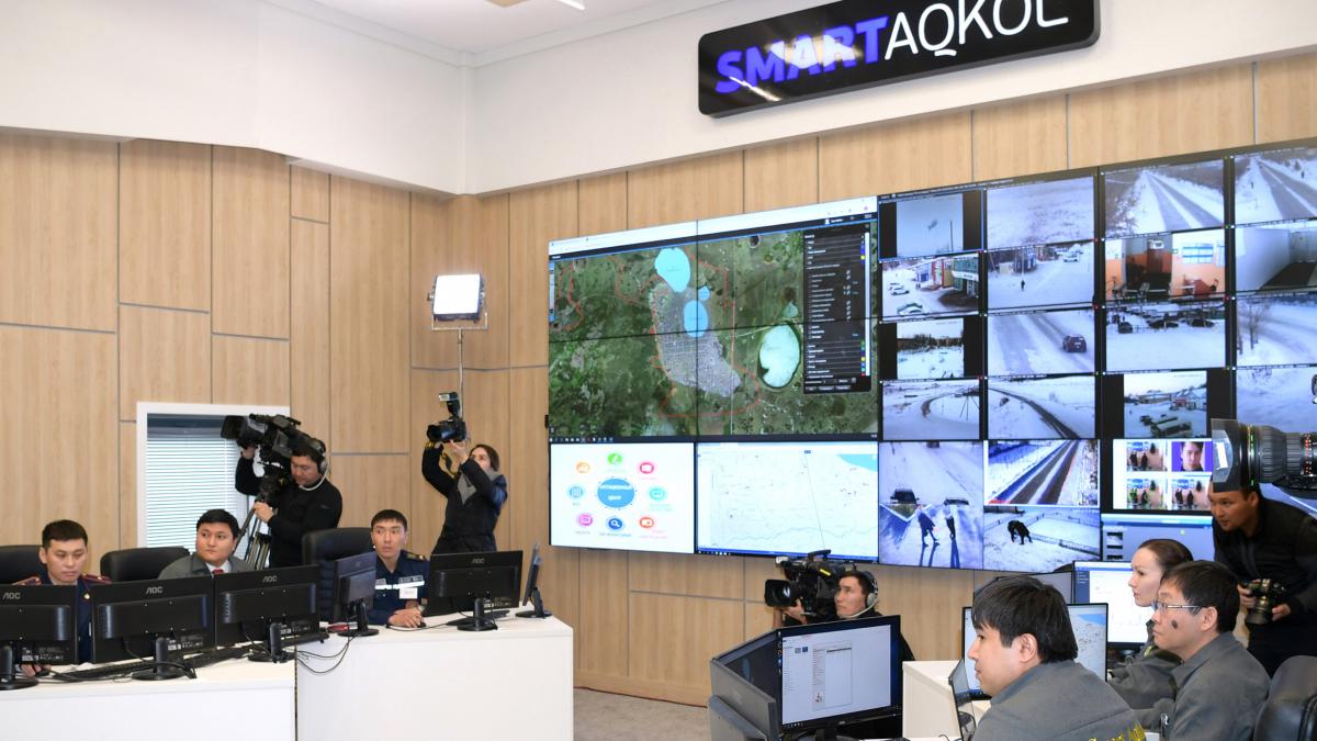 Nursultan Nazarbayev makes a working trip to Akmola region