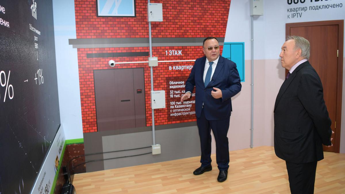 Нурсултан Назарбаев посетил Акмолинскую область с рабочим визитом