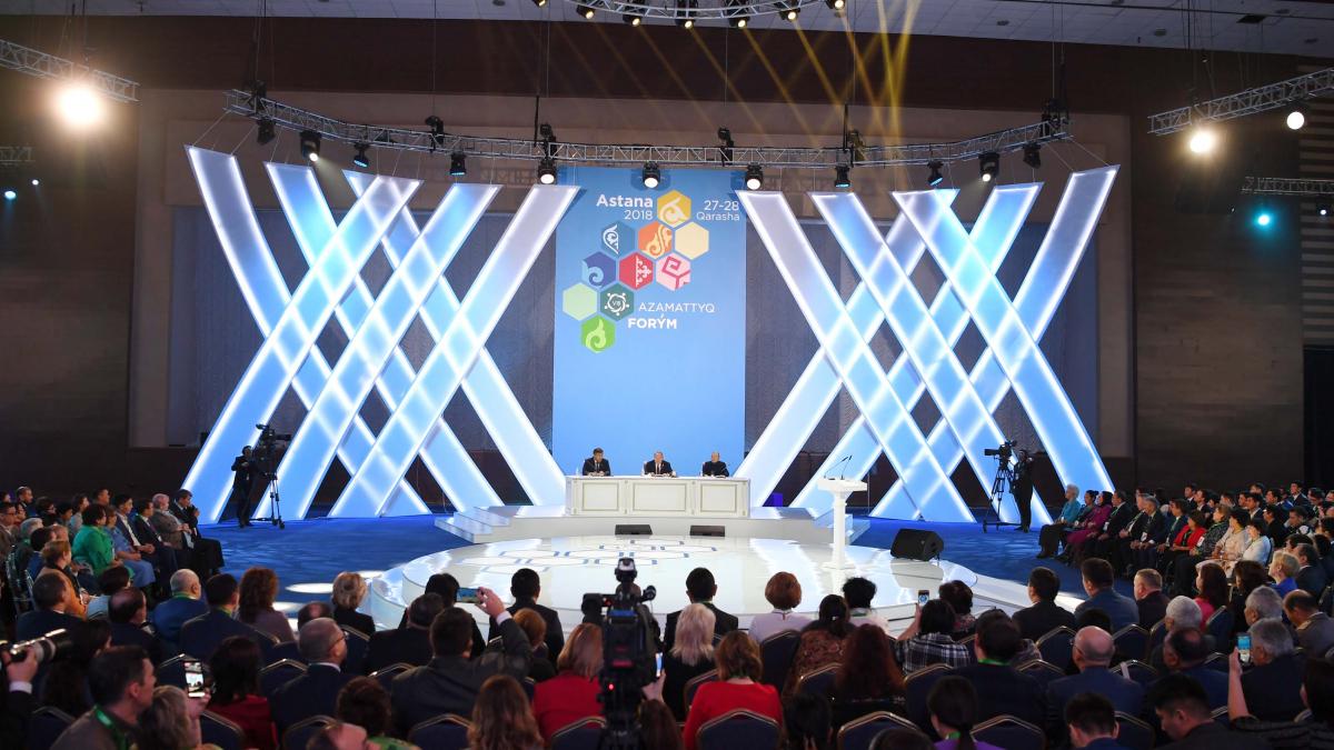 Head of State perticipates in VIII Civil Forum of Kazakhstan