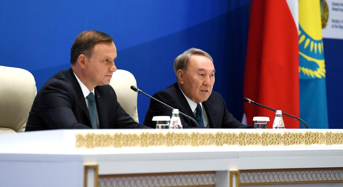 ҚР Президенті Нұрсұлтан Назарбаев Қазақстан-Польша бизнес-форумына қатысты