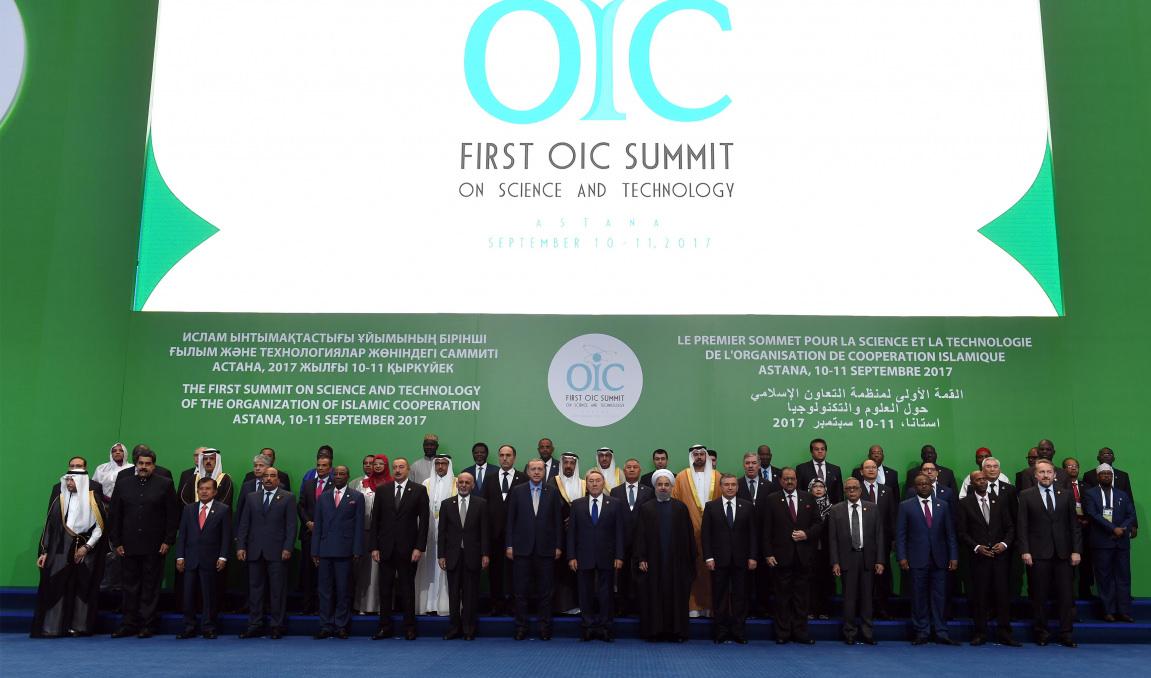 Президент Республики Казахстан принял участие в пленарном заседании Первого Саммита Организации исламского сотрудничества по науке и технологиям