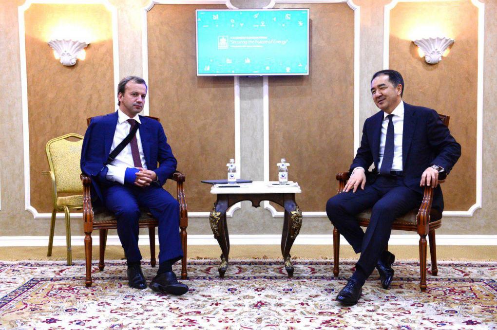 Бакытжан Сагинтаев провел ряд двусторонних встреч с участниками форума Kazenergy