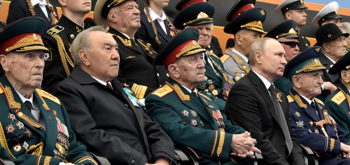 Н. Назарбаев Ұлы Отан соғысындағы Жеңістің 74 жылдығына арналған әскери парадта болды