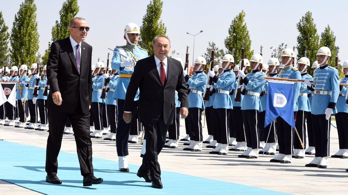 Nursultan Nazarbayev meets with President of Turkey Recep Tayyip Erdogan