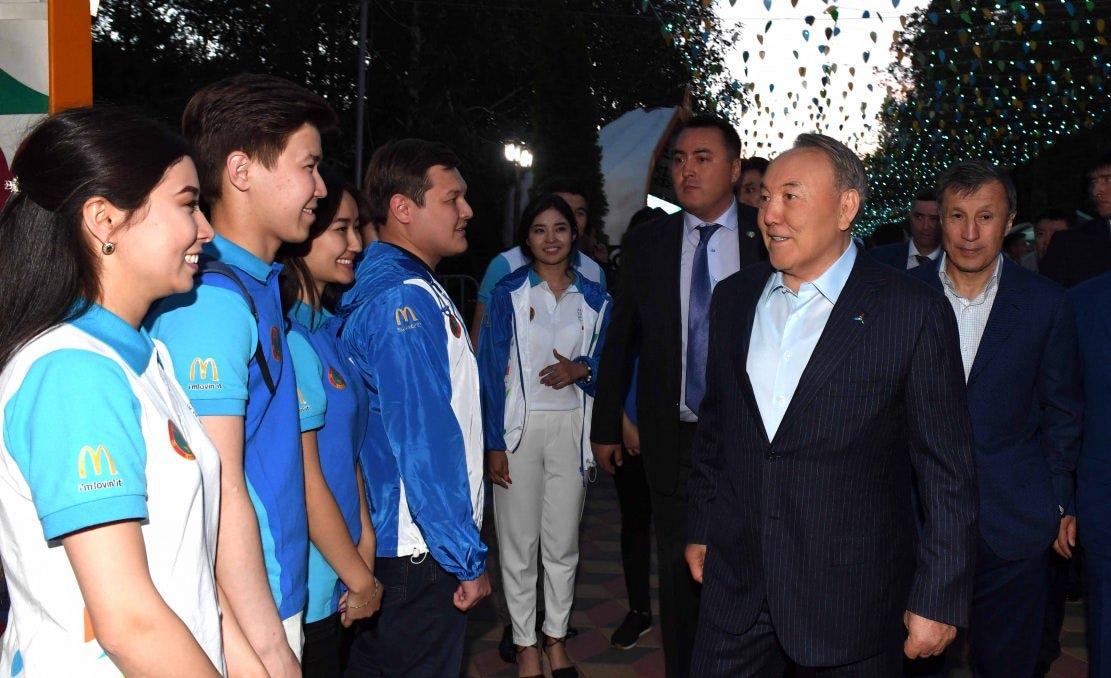 Глава государства принял участие в торжественном приеме, посвященном Дню столицы