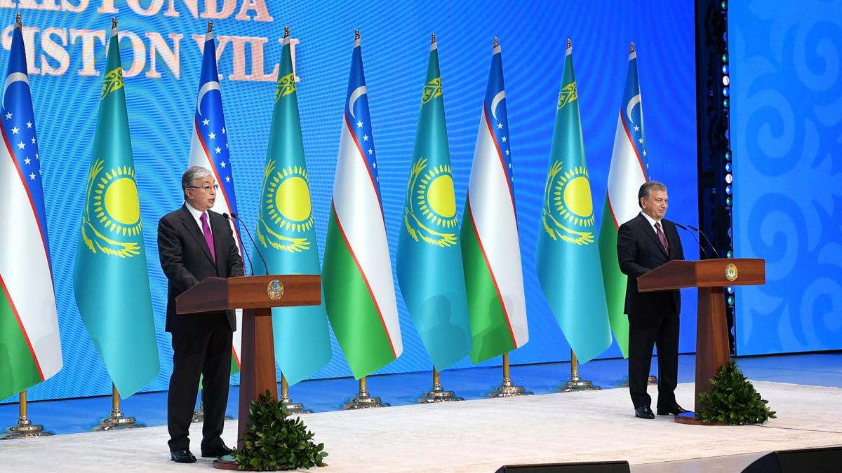 Президент РК К. Токаев принял участие в церемонии открытия Года Казахстана в Узбекистане