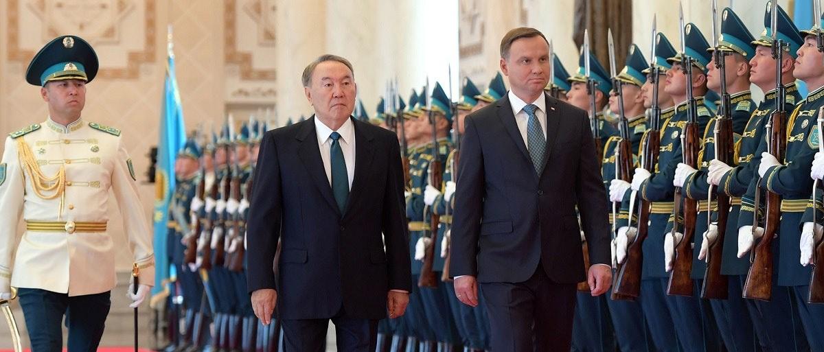 Мемлекет басшысы Польша Республикасының Президенті Анджей Дудамен кеңейтілген құрамда кездесу өткізді