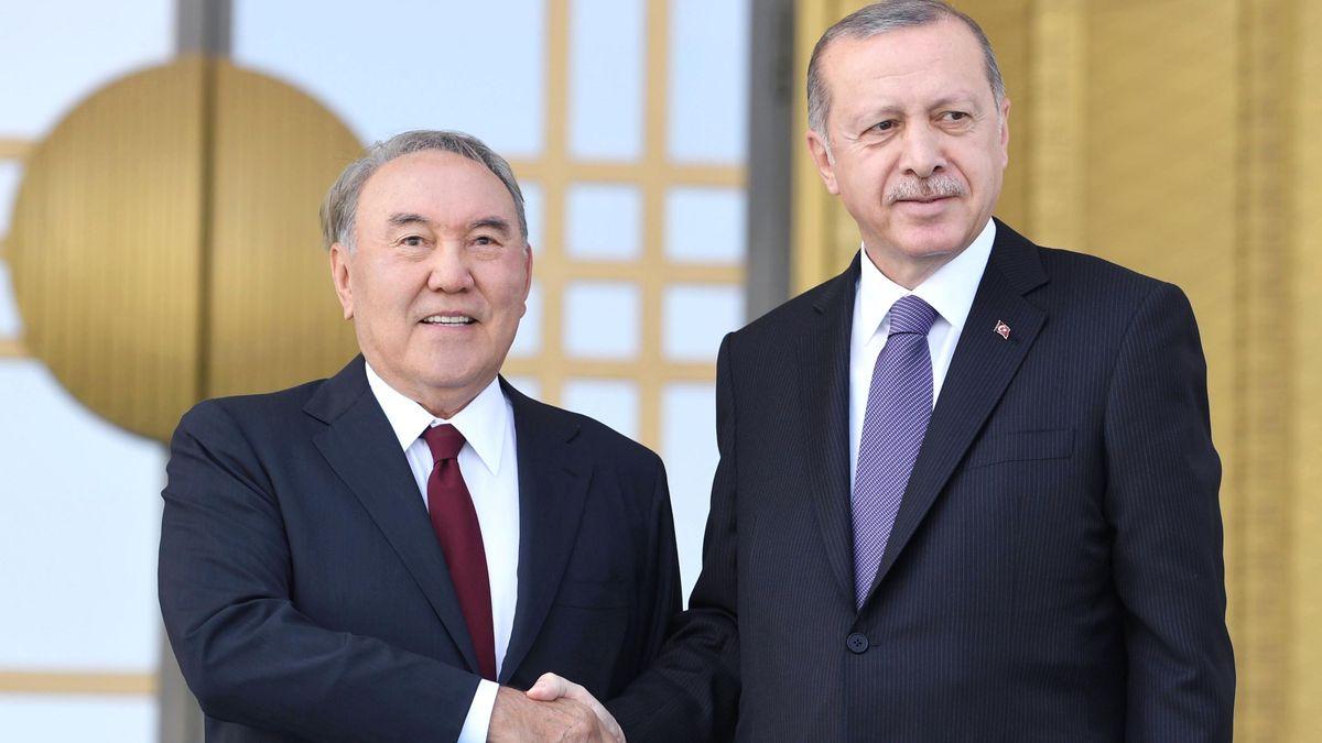 Нұрсұлтан Назарбаев Түркия Президенті Режеп Тайип Ердоғанмен кездесті