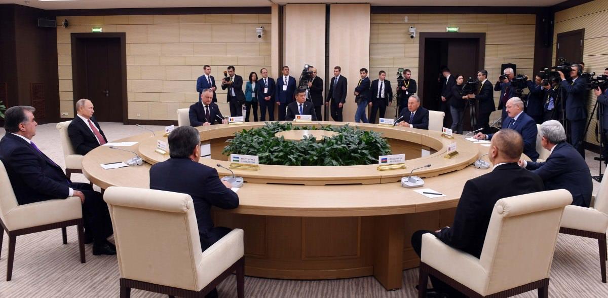 Президент Казахстана принял участие в неформальном саммите глав государств СНГ