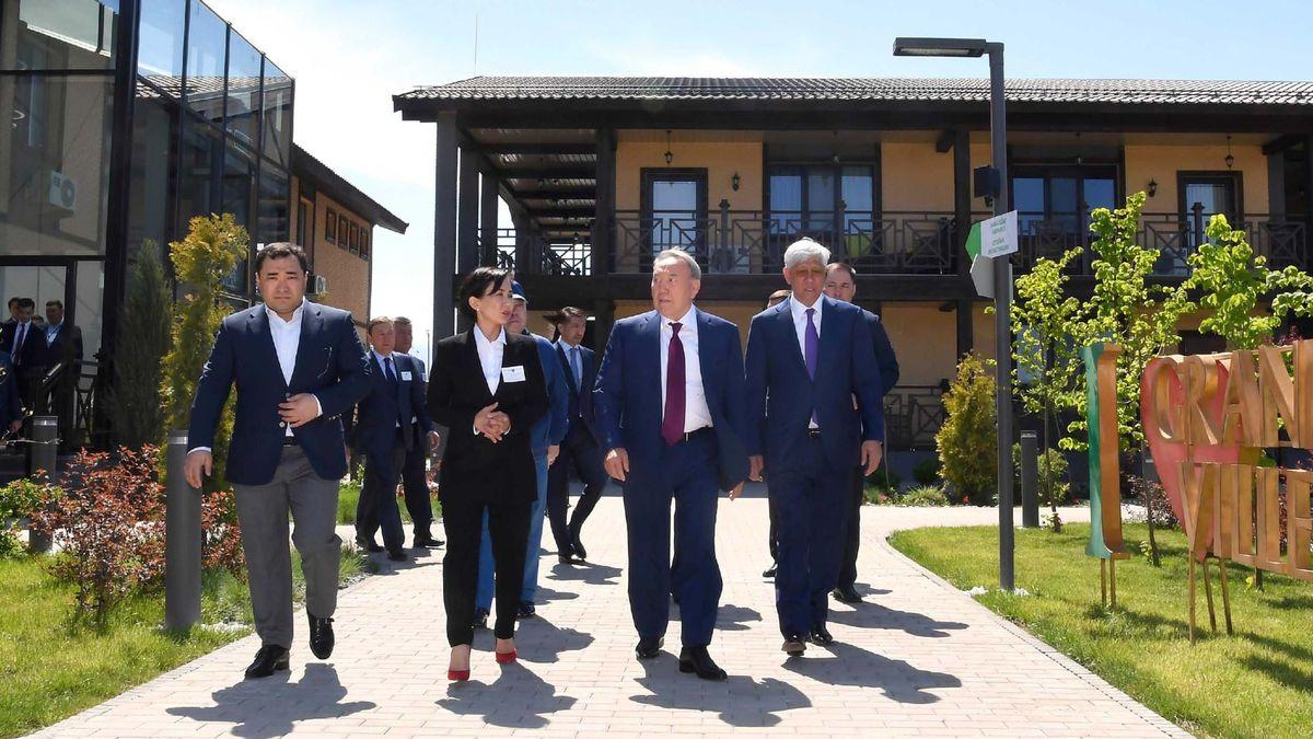 Нурсултан Назарбаев посетил Алматинскую область с рабочим визитом