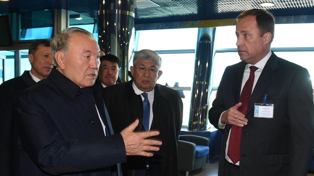 Нурсултан Назарбаев посетил Кызылординскую область с рабочим визитом